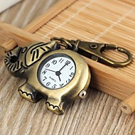 Unisex Elephant Style Alloy Analog Quartz Keychain  Watch (Bronze) Cool Watches Unique Watches