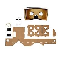 diy karton virtual reality 3D-bril voor iPhone 6 / Samsung Galaxy S5 / S4 / lg G3 / g2 / Google Nexus 5 / Nexus 4
