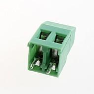 מסופי PCB לדפוק 5.08mm המגרש kf129-2p מסופים (10pcs)