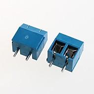 5.08mm 300v16a אספקת חשמל kf301-2p בלוק מסוף (10pcs)