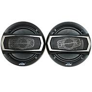 6-Zoll-400W Auto-Lautsprecher mit Montagezubehör, schwarz (Paar)