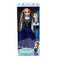 Princess Anna and Olaf 29cm Sparkle Barbie Doll