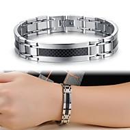 Cool Man Texture Titanium Steel Bracelet Jewelry