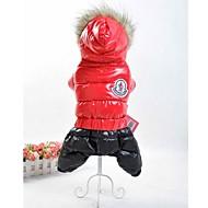 ropa deportiva mono de esquí para perros (colores variados, de diferentes tamaños)