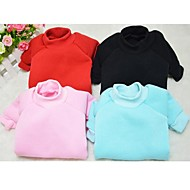 nuevo algodón jersey de color sólido para perros y mascotas (colores surtidos, tamaño)