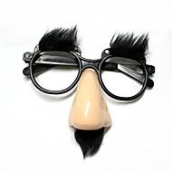 Funny vanhimman lasit nenä / otsan - beige + musta
