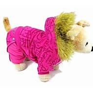 fascinantes y encantadores ropa gruesa de algodón para perros y mascotas (una variedad de colores, tamaño)