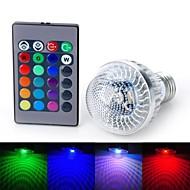 Marsing E26/E27 5 W Integrate LED 200-300 LM RGB/Color-Changing Globe Bulbs AC 85-265 V