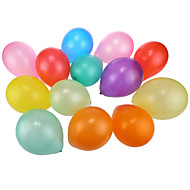 Pearlized Round Balloons 100Pcs