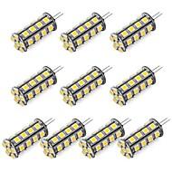 G4 3.5 W 30 SMD 5050 352 LM K Warm wit/Koel wit 2-pins lampen DC 12 V