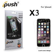 High Transparency HD LCD Screen Protector for iPhone 6 (3 Pieces)