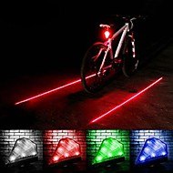 LEADBIKE A-14S Laser Projection  6-Mode  8 LED Bicycle Safety Warning Wheel Lights(135LM,Rechargeable,Assorted Color)