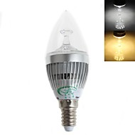 E14 LED Candle Lights C35 15 SMD 2835 450 lm Warm White / Cool White Decorative AC 220-240 V