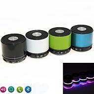 kubei® 288v rgb mini bluetooth speaker micro sd mic usb aux draagbare handfree voor iphone Samsung en andere mobiele telefoon