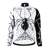 KOOPLUS® Camisa para Ciclismo Mulheres / Homens / Unissexo Manga Comprida Moto A Prova de Vento / Zíper á Prova-de-Água / Vestível