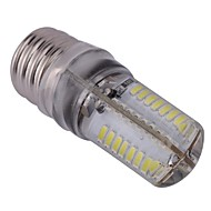 4W E17 Ampoules Maïs LED T 64 SMD 3014 300 lm Blanc Froid AC 110-130 V