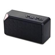 mini kannettava langaton bluetooth kaiutin ladattava akku älypuhelimille mp3 / mp4 PSP ja musiikkisoitin musta