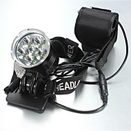 Headlamps LED 5 Mode 8400 Lumens Waterproof / Rechargeable Cree XM-L T6 18650Camping/Hiking/Caving / Everyday Use / Cycling / Hunting /