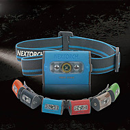 Nextorch Trek Star Waterproof 2 Modes 3xCree Headlamp(140LM,3xAAA,Assorted Colors)