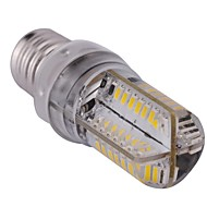 E14 4 W 80 SMD 3014 400 LM Warm White / Cool White T Dimmable Corn Bulbs AC 220-240 V
