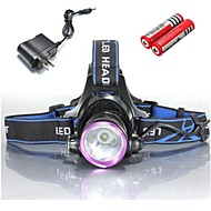 Bike Lights LED 3 Mode 2000 Lumens Waterproof / Rechargeable / Impact Resistant Cree XM-L T6 18650 / 18350Camping/Hiking/Caving /