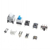 10 Kinds of Tactile Switches Push Button SMD Tact Switch Switch