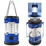 랜턴 & 텐트 조명 LED 1 모드 200 루멘 방수 기타 AA 캠핑/등산/동굴탐험 / 일상용 / 낚시 / 여행 / 드라이빙 / 일 - 기타 , 블루 ABS