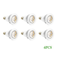 4W E14 / GU10 LED Spotlight 16 SMD 5730 280 lm Warm White AC 220-240 / AC 110-130 V 6 pcs