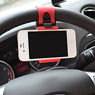 Car Steering Wheel Mount Holder Rubber Band for iPhone/iPod and Others