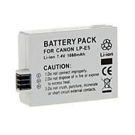 Li-ion laddningsbart batteri för LP-E5 Canon EOS 500D 450D 1000D