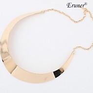 eruner®europeanスタイルシンプルなチョーカーネックレス(ランダムカラー)