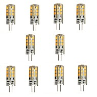 10 pcs G4 3 W 24 SMD 2835 270 LM Warm White Bi-pin Lights DC 12 V
