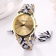 Women Big Circle Dial  National Hand Knitting Brand Luxury Lady Watch C&D-283