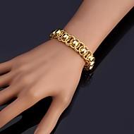Dam Kedje & Länk Armband Armringar Armband Mode kostym smycken Platina Pläterad Guldpläterad Smycken Till Bröllop Party Speciellt
