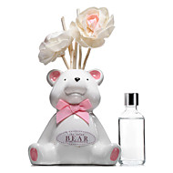 50ml rosa suportar set óleo essencial casa lily