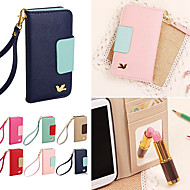 DF Colorful Little Bird PU Leather Full Body Case with Strap for Samsung S3 I9300 (Assorted Colors)