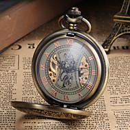Orologio Vintage da tasca, unisex, atomatico, analogico - Bronzo