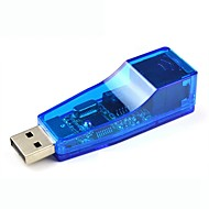 10 / 100Mbps USB 2.0 wired adattatore ethernet (supporta le vedove / mac / linux)