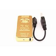 personnalité vent d'or de chargement USB électrons arc impulsion électrique légers