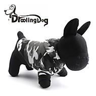 DroolingDog® Snow Camouflage Pattern Fleeces Hoodies T-Shirt for Dogs(Assorted Sizes)