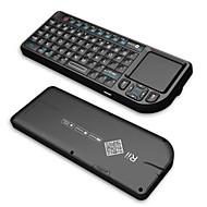 Rii Mini V3   2.4G Wireless Keyborad With/ Touchpad / Laser Pointer / Backlight - Black