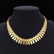 Dames Choker kettingen Kraag Vintage Kettingen Sieraden Platina Verguld Verguld Opvallende sieraden Kostuum juwelen Sieraden Voor