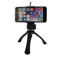 høj kvalitet stativ stativ med telefon holder til Samsung mobiltelefon og kameralinsen