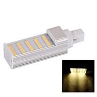 G24 5 W 25 SMD 5050 480 LM Warm White Decorative Corn Bulbs AC 85-265 V