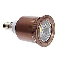 E14 7 W 1 COB 770 LM Warm White/Cool White Spot Lights AC 85-265 V