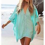 cotone massiccio vuoto crochet swimwer bikini spiaggia moda femminile coprire vestito prevenzione mini sole