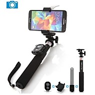 ashutb bastone Selfie bluetooth monopiede allungabile per iphone, Samsung e GoPro fotocamera