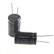 elektrolitik kapasitör 4700uF 63V (2 adet)