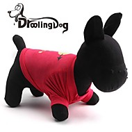 DroolingDog® An arrow through the heart Present Pattern Cotton T-Shirt for Dogs (Assorted Color Sizes)