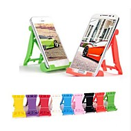 F1 Car Shaped Plastic Folding Stand for Samsung iPhone Cellphone(Random Color)